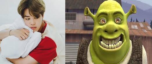 Fanfic / Fanfiction Shrek e Jimin- Amor proibido - Capítulo 1 - Amor de infância
