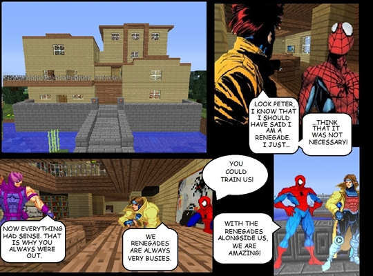 Fanfic / Fanfiction The Renegades - Capítulo 34 - A guilda dos heróis