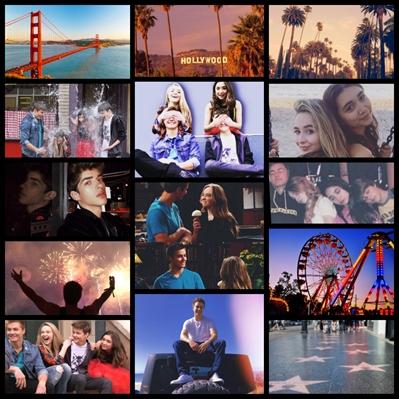 Fanfic / Fanfiction ( Peybrina ) i hate u , i love u - Capítulo 68 - De férias na Califórnia