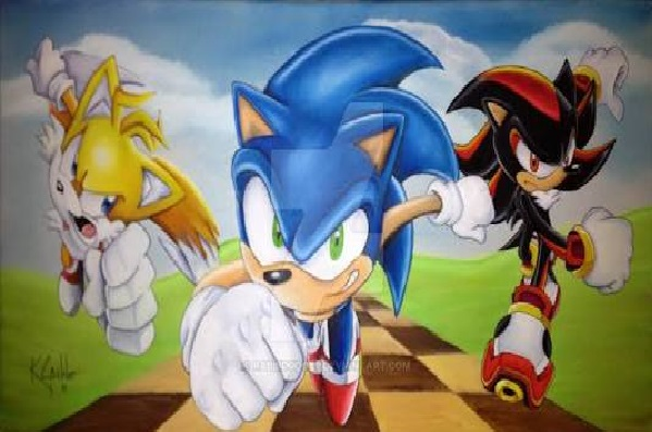 Fanfic / Fanfiction A jornada do herói azul - Capítulo 2 - Sigma Fighters