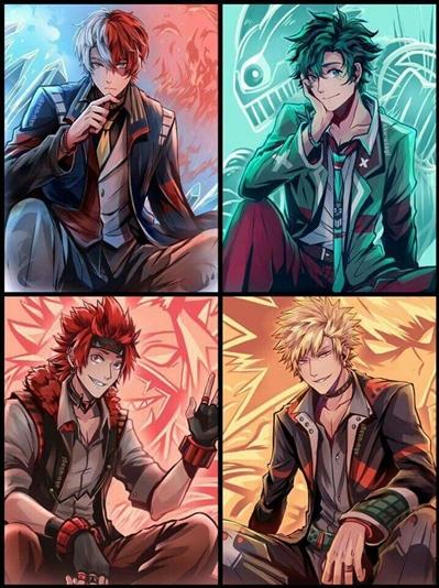 Fanfic / Fanfiction Apocalipse: Todoroki, Midoriya, katsuki. - Capítulo 1 - Personalidade