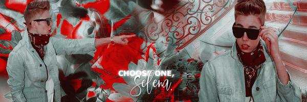 Fanfic / Fanfiction Choose One, Selena. - Capítulo 2 - Olhe por onde anda, gracinha.