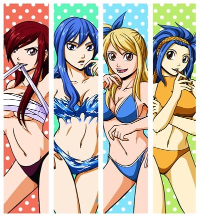Fanfic / Fanfiction Colégio Fairy Tail - Capítulo 10 - Festa de pijama