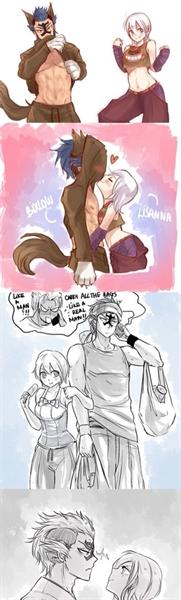 Fanfic / Fanfiction Comics de Fairy Tail - Capítulo 102 - Bickslow and Lisanna