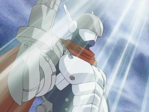 Fanfic / Fanfiction Digimon Adventure. A era das trevas. - Capítulo 27 - Pela Justiça, Justimon