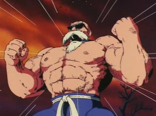 Fanfic / Fanfiction Dragon Ball : A Nova Lenda - Capítulo 8 - A super técnica de Kame