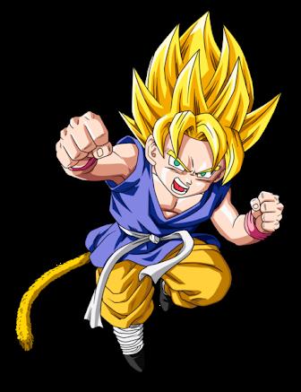 Fanfic / Fanfiction Dragon Ball: O Pequeno Super Saiyajin - Capítulo 1 - Pequeno Goku, o Super Saiyajin