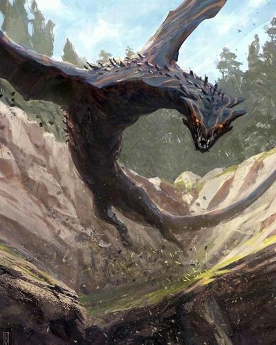 Fanfic / Fanfiction Espectral darkanje - Capítulo 8 - Dragão Negro