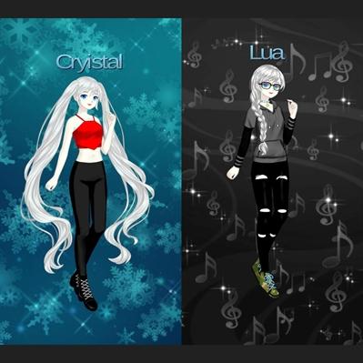Fanfic / Fanfiction Feliz aniversário Cryistal e Lua - Capítulo 1 - Capítulo único - feliz aniversário gêmeas Cryistal e Lua