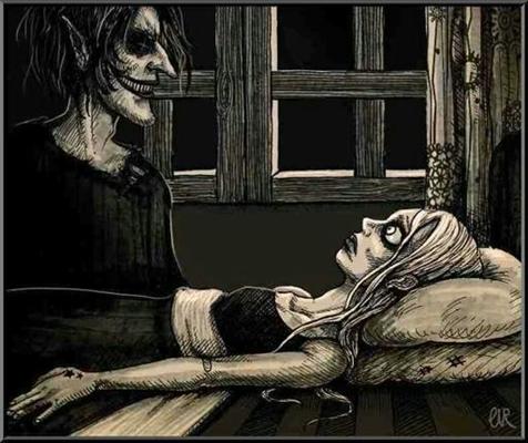 Fanfic / Fanfiction Histórias Macabras - Capítulo 13 - A Pisadeira