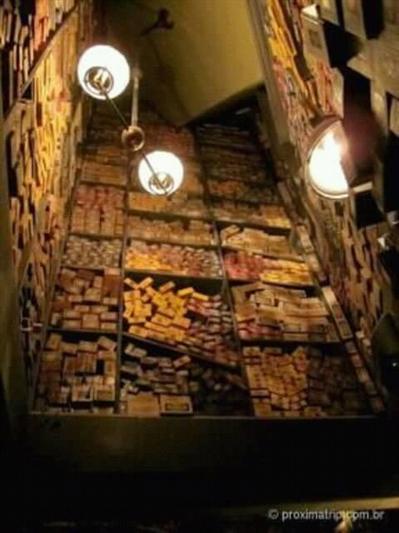Fanfic / Fanfiction Hogwarts em outro tempo - Capítulo 3 - Beco diagonal - a varinha