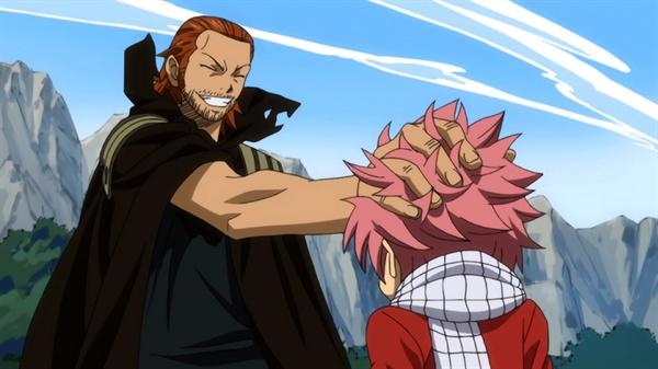 Fanfic / Fanfiction Impossible - Capítulo 10 - (1) Natsu vs Gildarts e um Adeus.