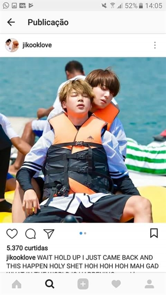 Fanfic / Fanfiction Instagram Jikook - Capítulo 27 - Couple