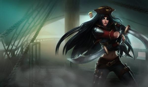 Fanfic / Fanfiction League of Legends: Guerra de Runeterra - Capítulo 3 - Katarina das Águas Sentinas