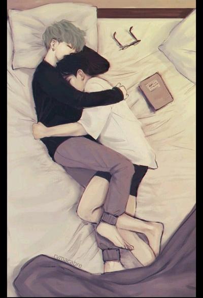 Fanfic / Fanfiction Meu Alfa - Yoonkook - Capítulo 9 - Dormir juntos?
