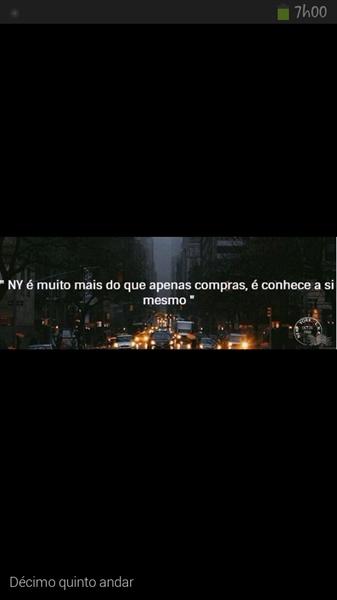 Fanfic / Fanfiction New York por uma noite. - Capítulo 1 - Décimo quinto andar