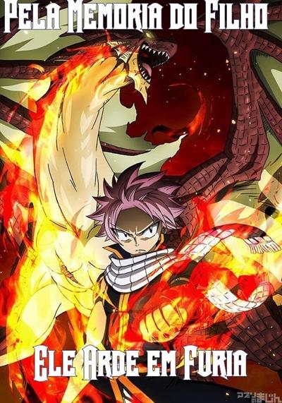 Fanfic / Fanfiction O Dogma dos Dragões-Interativa - Capítulo 6 - Combate em Magnolia, Igneel Arde em Furia!