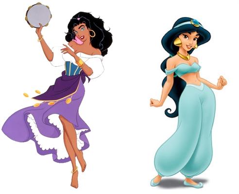 Fanfic / Fanfiction Princesas disney - contos eroticos - Capítulo 4 - Jasmine - Esmeralda