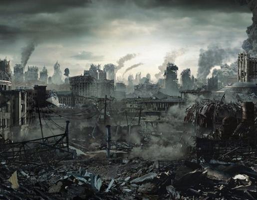 Fanfic / Fanfiction Terra Morta - Capítulo 1 - O Fim Começou