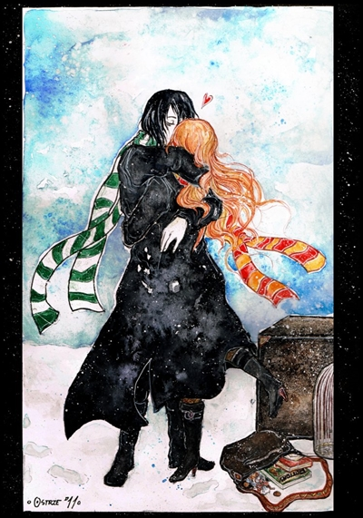 Fanfic / Fanfiction The Half-Blood Prince - Severo Snape - Capítulo 7 - Juntos afinal