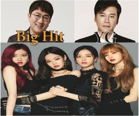 Fanfic / Fanfiction BTSPINK- Seven Chosen and Seven Normal Boys - Capítulo 5 - BigHit E YG