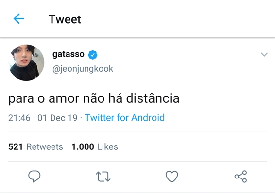 Fanfic / Fanfiction Arroba do Twitter (Jeon Jungkook) - Capítulo 2 - Segundo