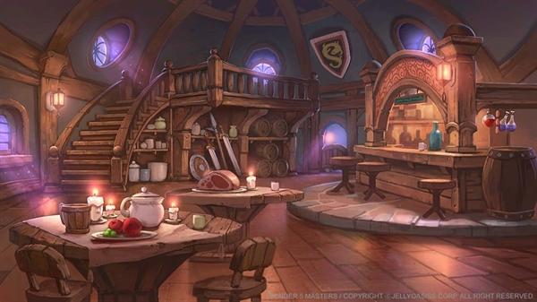 Fanfic / Fanfiction Divine world: A Existência além do mundo Real. - Capítulo 2 - O Bar Cabeça de Bode e Início da Aventura.