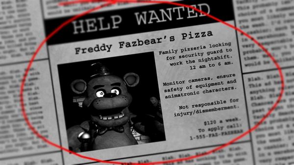 Fanfic / Fanfiction Five nights at Freddy's - Capítulo 1 - Leia abaixo antes de começar a história