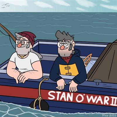 Fanfic / Fanfiction Gravity Falls - 3 temporada - Capítulo 2 - Stan O' War