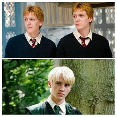 Fanfic / Fanfiction Intercâmbio em Hogwarts - Capítulo 3 - Fred ou Draco