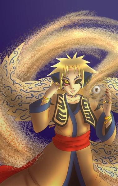 Fanfic / Fanfiction Um Novo Youkai - Capítulo 7 - Kurama vs Quarteto do som e Naruto vs Shukaku