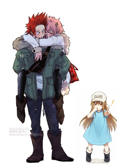 Fanfic / Fanfiction Boku no hero- um amor vermelho e rosa (kirishima x ashido) - Capítulo 12 - Papai e mamãe