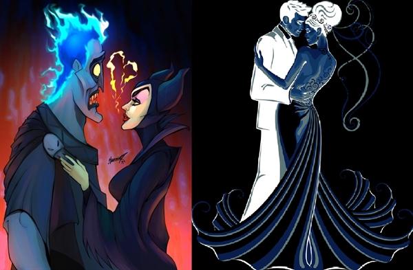 Fanfic / Fanfiction Descendentes: Uma História Tocada Pelo Caos - Capítulo 257 - O Casamento de Malévola e Hades