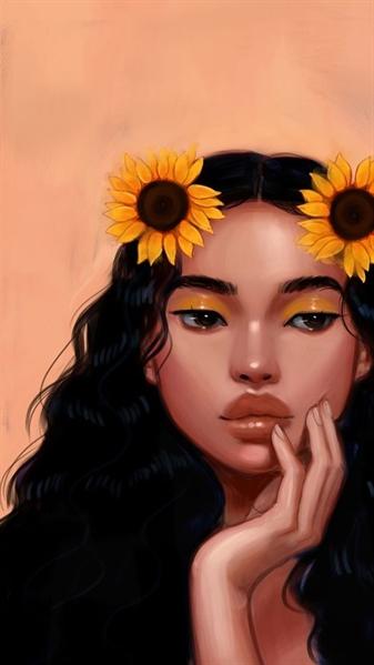 Fanfic / Fanfiction Ela é sol, um girassol - Capítulo 3 - Lua