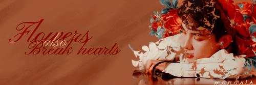 Fanfic / Fanfiction Flower Shop - Capítulo 1 - Flowers also break hearts