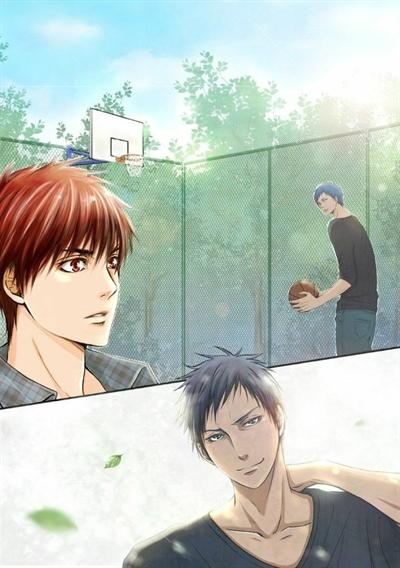 Fanfic / Fanfiction Im sorry - Kuroko no basket - Aokaga - Capítulo 6 - Só na mão...