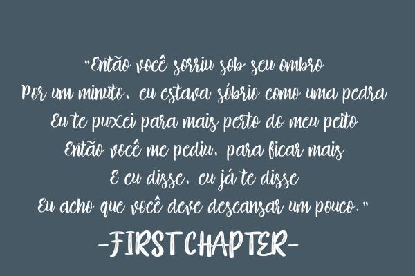 "Fanfic / Fanfiction My dear diary - Capítulo 1 - ""Como faz isso?"" - 1"