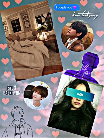 Fanfic / Fanfiction Os garotos de cima (Imagine Taehyung e Baekhyun) - Capítulo 16 - Já to com saudades....