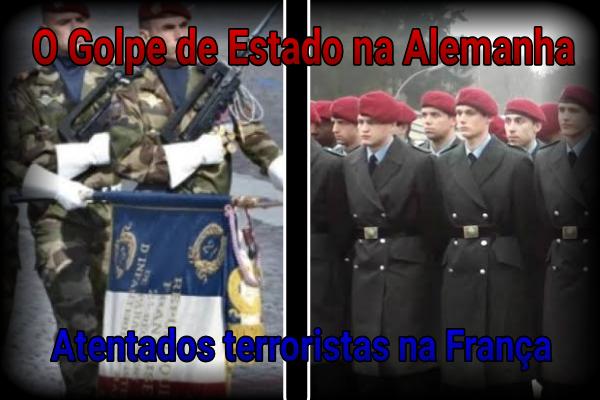 Fanfic / Fanfiction Terceira Guerra Mundial - Capítulo 3 - França e Alemanha se Envolvem na Guerra