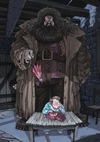 Fanfic / Fanfiction Os marotos lendo a saga Harry Potter - Capítulo 6 - O guardião das chaves