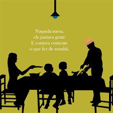 Fanfic / Fanfiction Uns poema ae - Capítulo 2 - Naquela mesa