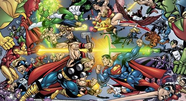 Fanfic / Fanfiction Universo Dc Comics VS Universo Marvel Comics - Capítulo 1 - Capítulo Único