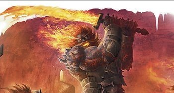 Fanfic / Fanfiction Olhos Flamejantes - Capítulo 11 - O Gigante Titan Aparece