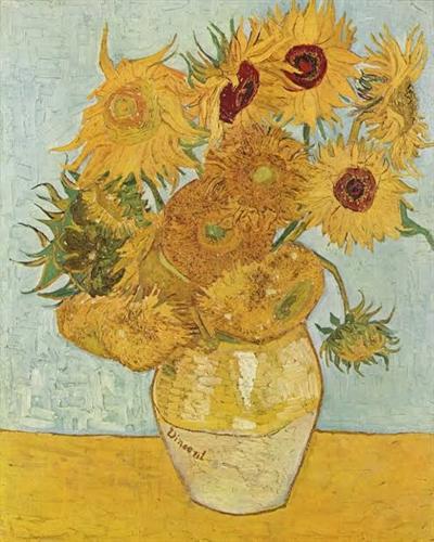 Fanfic / Fanfiction Os girassóis de Van Gogh - Wangxian - Capítulo 1 - Único