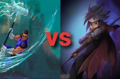 Fanfic / Fanfiction Campeonato - Brawlhalla - Capítulo 5 - Capítulo 3 - Jiro vs Sentinel