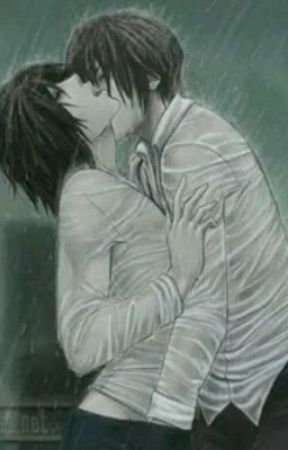 Fanfic / Fanfiction Sentimentos mudados(L x Light) - Capítulo 2 - Beijo a bela chuva