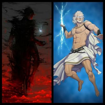 Fanfic / Fanfiction Boy chosen from the curse 2: Lorkgate Arc - Capítulo 39 - The gods vs the Demons...