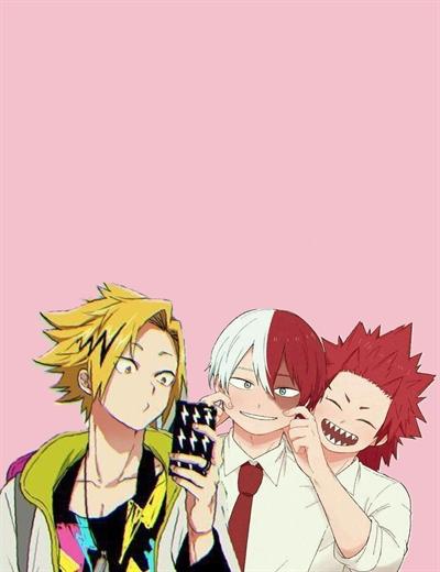 Fanfic / Fanfiction O dono do morro - Bakukiri - kiribaku - Tododeku - Capítulo 14 - Um dia com os amigos.