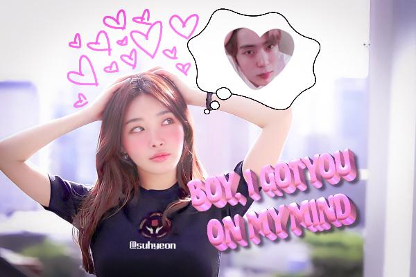 Fanfic / Fanfiction I don't want to wait - Chungha e Jaehyun (nct) - Capítulo 15 - 15. boy I got you on my mind
