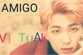 História: Imagine Kim Namjoon: Amigo Virtual